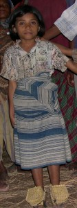 Girl wearing ei leko wue