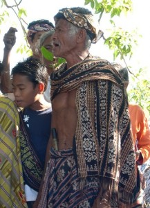 Head dress and selimut
